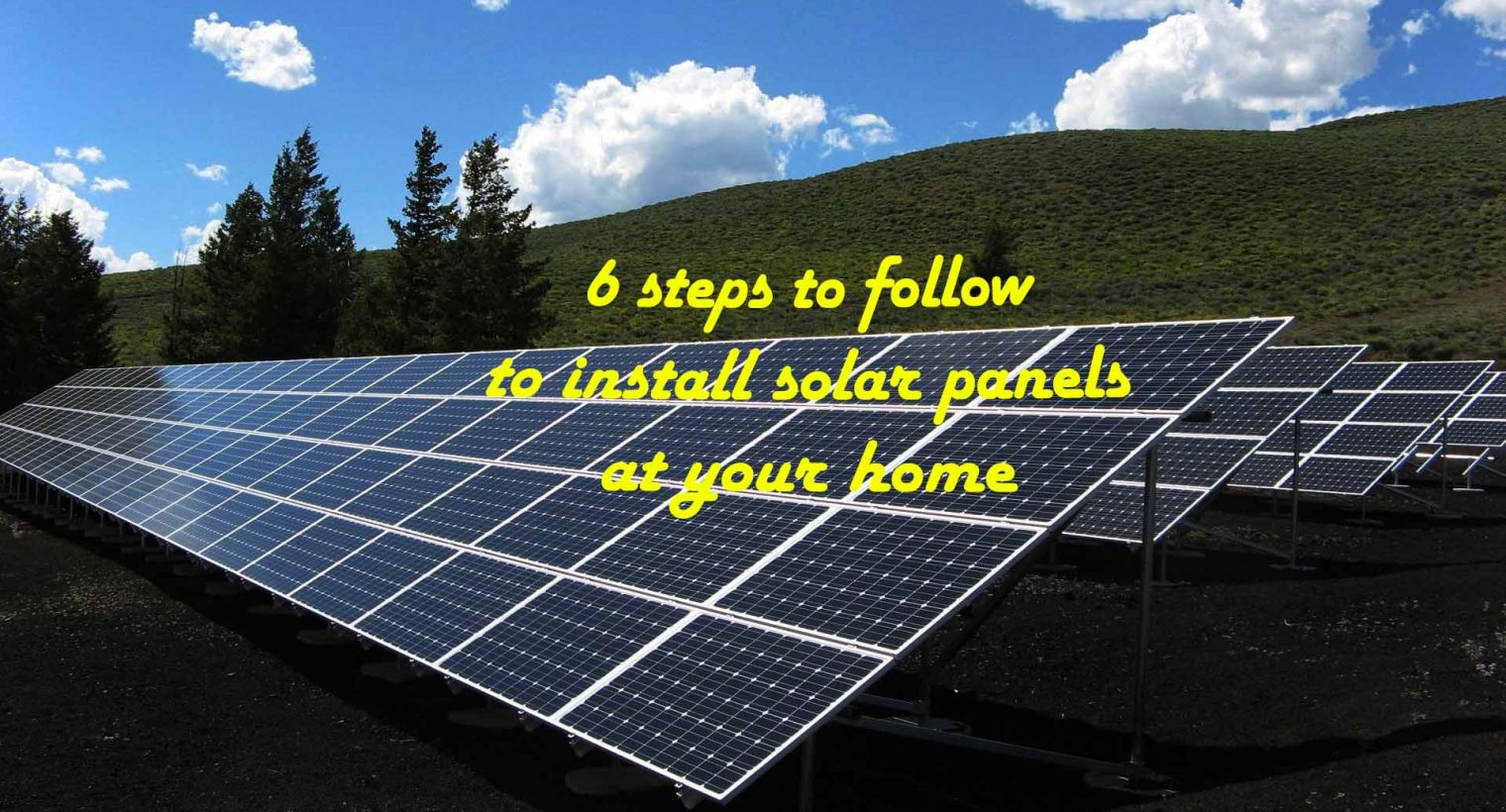Solar panel: clean energy for your home
